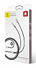 Baseus L34 Ligtning Girişli USB Kırmızı Aux Şarj Kablosu 1.20m - Resim 8