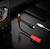 Baseus L37 Lightning Giriş Çoğaltıcı Lightning Siyah Adaptör 10cm - Resim 4