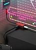 Baseus L37 Lightning Giriş Çoğaltıcı Lightning Siyah Adaptör 10cm - Resim 6