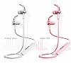 Baseus Licolor Manyetik Beyaz Bluetooth Kulakiçi Kulaklık - Resim 4