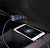 Baseus Lightning Çift USB Girişli Siyah Araç Şarjı - Resim 6