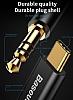 Baseus M01 Type-C Silver Aux Kablo 1.20m - Resim 2