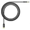 Baseus M01 Type-C Siyah Aux Kablo 1.20m - Resim 1