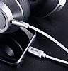 Baseus M01 Type-C Silver Aux Kablo 1.20m - Resim 3