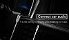 Baseus M01 Type-C Silver Aux Kablo 1.20m - Resim 4