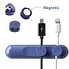 Baseus Peas Cable Manyetik Kablo Tutucu ve Ayrıştırıcı - Resim 2