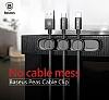Baseus Peas Cable Manyetik Kablo Tutucu ve Ayrıştırıcı - Resim 1