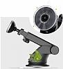 Baseus Mechanical Era Manyetik Vantuzlu Universal Silver Araç Havalandırma Tutucu - Resim 7