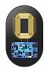Baseus Micro USB Siyah Kablosuz Şarj Alıcısı - Resim 1