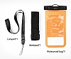Baseus Multi-Functional Universal Su Geçirmez Cep Telefonu Lacivert Kılıfı - Resim 6