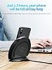 Baseus Multifunction Wireless Kablosuz Siyah Şarj Standı - Resim 8