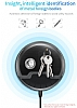 Baseus Multifunction Wireless Kablosuz Siyah Şarj Standı - Resim 4