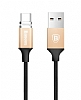 Baseus New Insnap USB Type-C Gold Manyetik Data Kablosu 1m - Resim: 2