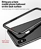 Baseus Platinum iPhone X Metal Bumper Çerçeve Siyah Kılıf - Resim 6