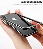 Baseus Platinum iPhone X Metal Bumper Çerçeve Siyah Kılıf - Resim 8