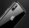 Baseus Platinum iPhone X Metal Bumper Çerçeve Siyah Kılıf - Resim 1