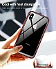 Baseus Platinum iPhone X Metal Bumper Çerçeve Siyah Kılıf - Resim 7