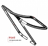 Baseus Platinum iPhone X Metal Bumper Çerçeve Siyah Kılıf - Resim 3