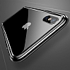 Baseus Platinum iPhone X Metal Bumper Çerçeve Siyah Kılıf - Resim 2