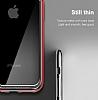 Baseus Platinum iPhone X Metal Bumper Çerçeve Siyah Kılıf - Resim 5