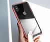 Baseus Platinum iPhone X Metal Bumper Çerçeve Rose Gold Kılıf - Resim 11