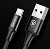 Baseus Rapid Series Type-C Kısa Siyah Data Kablosu 25cm - Resim 2