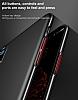 Baseus Ring Bracket iPhone X Selfie Yüzüklü Rubber Kılıf - Resim 4