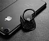 Baseus Ring Bracket Universal Siyah Yüzük Tutucu - Resim 3