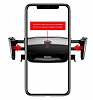 Baseus Robot Kırmızı Araç Havalandırma Tutucu - Resim 2