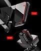 Baseus Robot Kırmızı Araç Havalandırma Tutucu - Resim 10