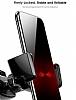 Baseus Robot Kırmızı Araç Havalandırma Tutucu - Resim 1
