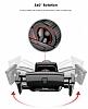 Baseus Robot Kırmızı Araç Havalandırma Tutucu - Resim 4