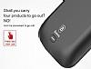 Baseus Samsung Galaxy S8 5000 mAh Bataryalı Kırmızı Kılıf - Resim 1