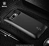 Baseus Samsung Galaxy S8 Plus 5500 mAh Bataryalı Kırmızı Kılıf - Resim 4