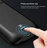 Baseus Samsung Galaxy S8 Plus 5500 mAh Bataryalı Lacivert Kılıf - Resim 8