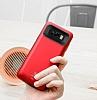 Baseus Samsung Galaxy S8 Plus 5500 mAh Bataryalı Kırmızı Kılıf - Resim 5