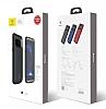 Baseus Samsung Galaxy S8 Plus 5500 mAh Bataryalı Kırmızı Kılıf - Resim 11