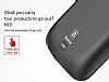 Baseus Samsung Galaxy S8 Plus 5500 mAh Bataryalı Siyah Kılıf - Resim 1