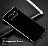 Baseus Simple Samsung Galaxy Note 8 Siyah Silikon Kılıf - Resim 1