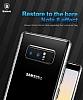 Baseus Simple Samsung Galaxy Note 8 Siyah Silikon Kılıf - Resim 5
