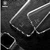 Baseus Simple Samsung Galaxy S8 Şeffaf Silikon Kılıf - Resim 1