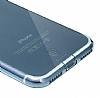 Baseus Simple Series iPhone 7 / 8 Şeffaf Lacivert Silikon Kılıf - Resim 2
