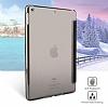 Baseus Simplism Y-Type iPad 9.7 Standlı Lacivert Deri Kılıf - Resim 3