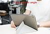 Baseus Simplism Y-Type iPad 9.7 Standlı Lacivert Deri Kılıf - Resim 4