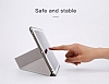 Baseus Simplism Y-Type iPad 9.7 Standlı Lacivert Deri Kılıf - Resim 8