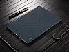 Baseus Simplism Y-Type iPad 9.7 Standlı Lacivert Deri Kılıf - Resim 10