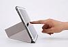 Baseus Simplism Y-Type iPad 10.5 Standlı Lacivert Deri Kılıf - Resim 6