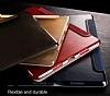 Baseus Simplism Y-Type iPad 10.5 Standlı Bordo Deri Kılıf - Resim 9