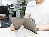 Baseus Simplism Y-Type iPad 10.5 Standlı Bordo Deri Kılıf - Resim 8