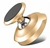 Baseus Small Ears Vertical Type Manyetik Universal Gold Araç Tutucu - Resim 3